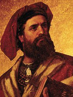 Marco Polo è un mercante molto famoso per il suo libro che racconta il suo viaggio attraverso il continente asiatico.