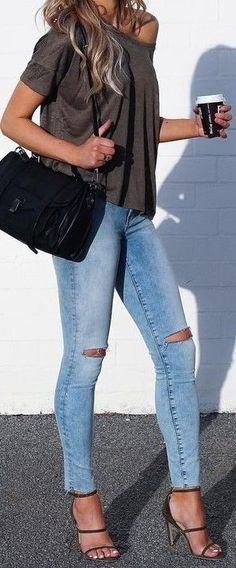 55 Trending And Cool Outfits Of Australian Fashionista : Agatha Khaki + Denim Cozy Winter Outfits, Fall Outfits, Summer Outfits, Casual Outfits, Cute Outfits, Fashion Outfits, Womens Fashion, Runway Fashion, Fashion Trends
