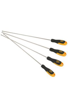 #JCB 4 Pcs Long Reach #Screwdriver Set Is Suitable For a Variety of Long Projects Requiring a Long Reach.#ecommerce #online