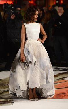 "Kerry Washington at the UK premiere of ""Django Unchained"" carrying a Jill Milan ""Art Deco"" clutch. #handbags"