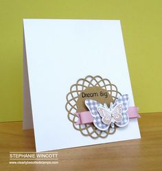 Stamping & Sharing: Dream Big