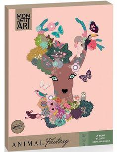 Magiczny las zestaw kreatywny Mon Petit Art | MaliCiekawscy.pl