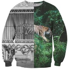 Tiger Cage sweater