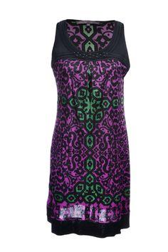 #HaleBob | Mit Steinen verziertes #Kleid aus 100% Seide, Gr. M | Hale Bob Kleid | mymint-shop.com | Ihr Online #Shop für #Secondhand / #Vintage Designerkleidung & Accessoires bis zu -90% vom Neupreis das ganze Jahr #mymint