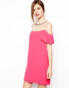 BCBGMAXAZRIA Candace Ruffle Sleeve Dress