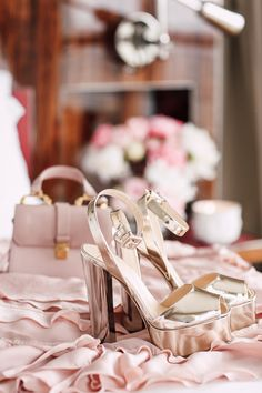 Dressy Summer Sandals - Giuseppe Zanotti Lavinia Metallic Gold Platform Sandals