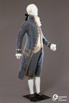 3rd quarter of the 18th c. Italian man's suit