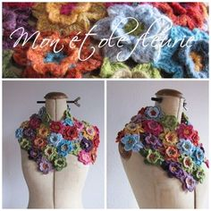 Nice flower shawl. Maybe for the wedding?