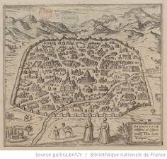 Historical Map of Damascus Syria Throw Blanket by bravuramedia Vintage Wall Art, Vintage Walls, Bnf, Damascus, Syria, City Photo, Vintage World Maps, Ibn Battuta, Products