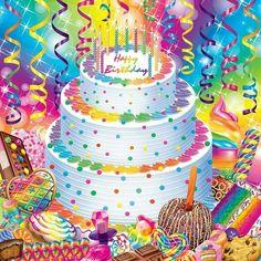 Lisa Frank Happy Birthday