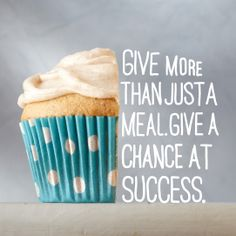 Give a chance at success {Pin A Meal. Land O Lakes Recipes, Cooking For Dummies, Cinnamon Cupcakes, Great Recipes, Favorite Recipes, Donate To Charity, Cookie Designs, Cupcake Cookies, Cakes And More