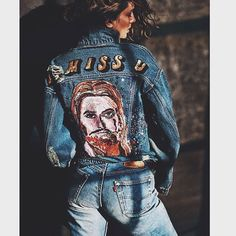 Kind of obsessed with this editorial from the March 2015 @vogueparis styled by @emmanuellealt featuring @andreeadiddy wearing @levis and @ashish_uk photographed by @mario_sorrenti_2 #regram #inspiration #shopredone #vogue #denim