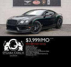 Bentley Gt3, Lease Specials, Bugatti