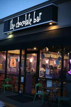 Houston, TX.. The chocolate bar... Sounds like my kinda place!!!