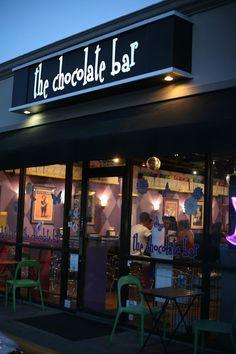 Houston, TX.. The chocolate bar... Sounds like my kinda place!!!