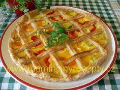 Slaný mřížkový koláč Apple Pie, Desserts, Food, Postres, Deserts, Apple Pies, Hoods, Meals, Dessert