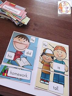 Sentence writing practice activities, puzzles and free printables.