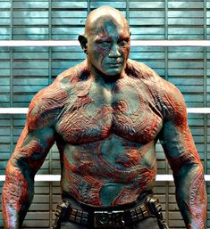 Drax The Destroyer (Dominic basic framework reference) Marvel Films, Marvel Characters, Marvel Heroes, Hufflepuff Characters, Marvel Avengers, Dave Bautista, Marvel Comic Universe, Marvel Cinematic Universe, Gardens Of The Galaxy