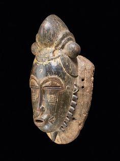 MASK Baule Ivory Coast. H 43 cm.