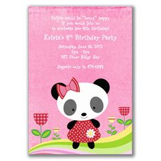 panda themed party - Google Search