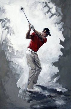 Our Residential Golf Lessons are for beginners,Intermediate & advanced . Our PGA professionals teach all our courses in a incredibly easy way to learn offering lasting results at Golf School GB www. Golf Painting, Sports Painting, Golf Chipping Tips, Golf Ball Crafts, Golf Academy, Golf Magazine, Golf Art, Golf Videos, Golf Tips For Beginners