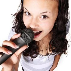 The best karaoke songs are easy to sing and they get the crowd involved. Here is a list of songs that will make you a star, even if you can't sing. Fun Songs To Sing, Best Karaoke Songs, Sing Along Songs, Karaoke Party, Rock Songs, Best Songs, Singing Lessons, Singing Tips, Singing Quotes