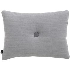 HAY Surface Dot Cushion - 45x60cm - Light Grey ($78) ❤ liked on Polyvore featuring home, home decor, throw pillows, grey, gray accent pillows, textured throw pillows, grey home decor, polka dot throw pillow and gray home decor