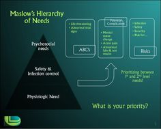 Prioritizing Nursing Care Using Maslow's Hierarchy of Needs and D&D's Visual Delivery