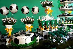 festa tema futebol - inesquecível festa infantil