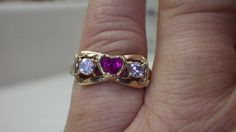 Engagement RingPromise RingBeautiful Antique by My3LadiesJewelry, $189.99