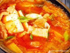 Kimchijjigae (Top Chef Korea) - This stuff is addictive!