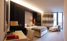 Спальня шкафы One hyde park - Rients Architect Room Interior, Interior And Exterior, One Hyde Park, Pretty Bedroom, Parking Design, Interior Design Companies, Beautiful Bedrooms, Beautiful Space, Interior Decorating