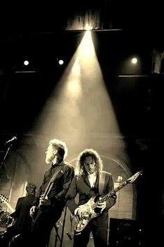James and Kirk, Metallica