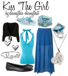 """Ariel's """"Kiss the Girl"""" outfit from The Little Mermaid"""