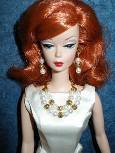Fashion doll jewelry for Barbie Silkstone by TheDesigningRose, $16.00