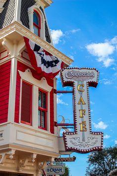 Disneyland - Main Street, U.S.A. - Carnation Café