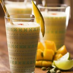 Cool Down With This Fresh Mango Lassi This Summer