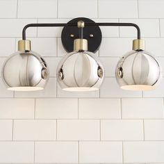 Young House Love Bubble Vanity Light - 3 Light bronze_and_nickel