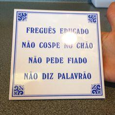 Portuguese Restaurant sign