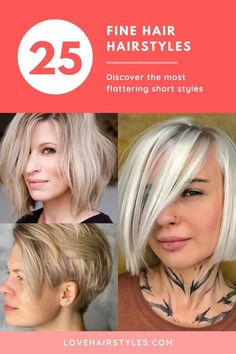 Different Styles Of Short Cuts For Fine Hair ❤ #lovehairstyles #hair #hairstyles #haircuts Short Shag Hairstyles, Haircuts For Fine Hair, Straight Hairstyles, Hairstyles Haircuts, Medium Hair Styles, Curly Hair Styles, Natural Hair Styles, Grey Hair Old, Haircut For Older Women
