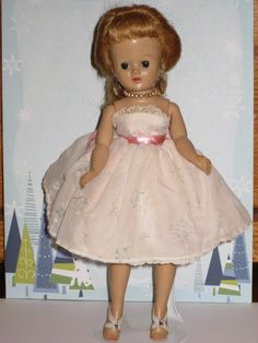 Vintage 1950s Vogue Jill Doll in Tagged by IngridsVintageDolls
