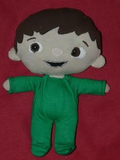 Charlie from Charlie and the numbers (with free pattern)