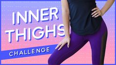 """It's the final song challenge for your INNER THIGHS in the Summer Song Challenge series! It's a short one that will target not only the inner thighs, but also the outer thighs and the lower abs. Your exercise is called the """"Elevated Frogger"""". Keep your heels pressed together and feet angled out like a V as you bring the knees over the hips and then into a full extension. Yay for POP Pilates thigh workouts!"""