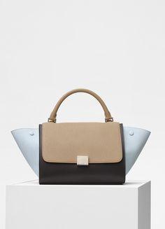 e6ebbb1bba Small Trapeze Bag in Bullhide Calfskin - セリーヌについて Hedi Slimane