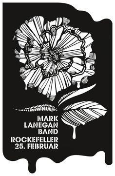 Poster Mark Lanegan Bandby snøhettadesign.no