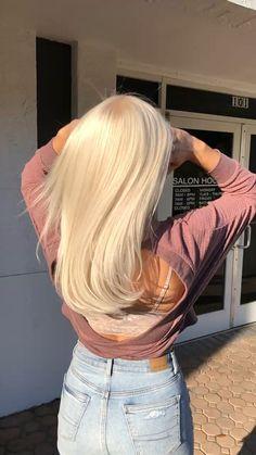 Blonde Hair Paint, Blonde Hair Shades, Bleach Blonde Hair, Blonde Hair Looks, Blonde Hair With Highlights, Brown Blonde Hair, Platinum Blonde Hair, Super Blonde Hair, Light Blonde Hair