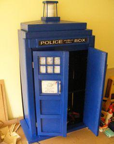 TARDIS bookcase, I will make you.