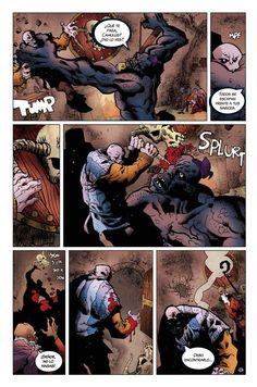 """Pagina 13 de """"El Dios fugitivo"""" Acto II"""