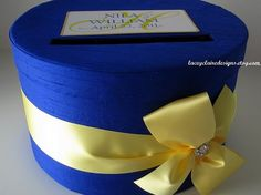 Wedding Card Money Box Custom Made to Order by LaceyClaireDesigns