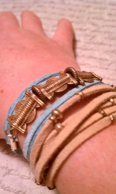 Ethnic Wrap Bracelet. $28.00, via Etsy.
